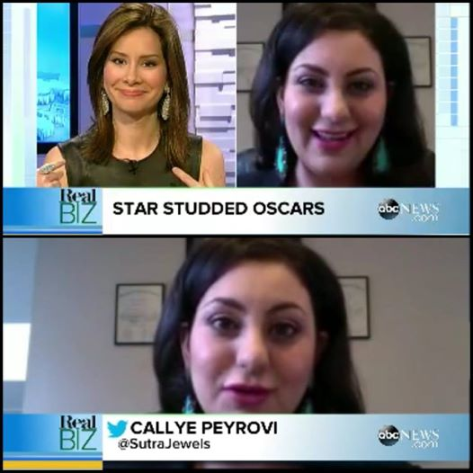 ABC News - live appearance for the Oscars red carpet review.